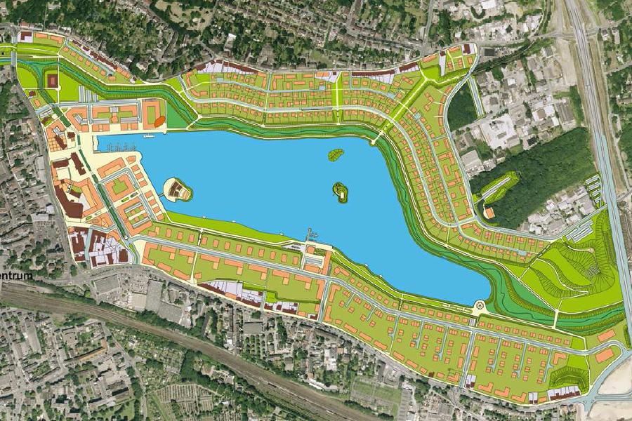 Dortmund-Phoenixsee-Lakis-Planung